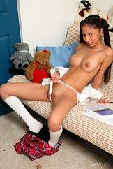 Amazingly Sexy Brunette Babe Porn Hot Strip Watch Alexis Love