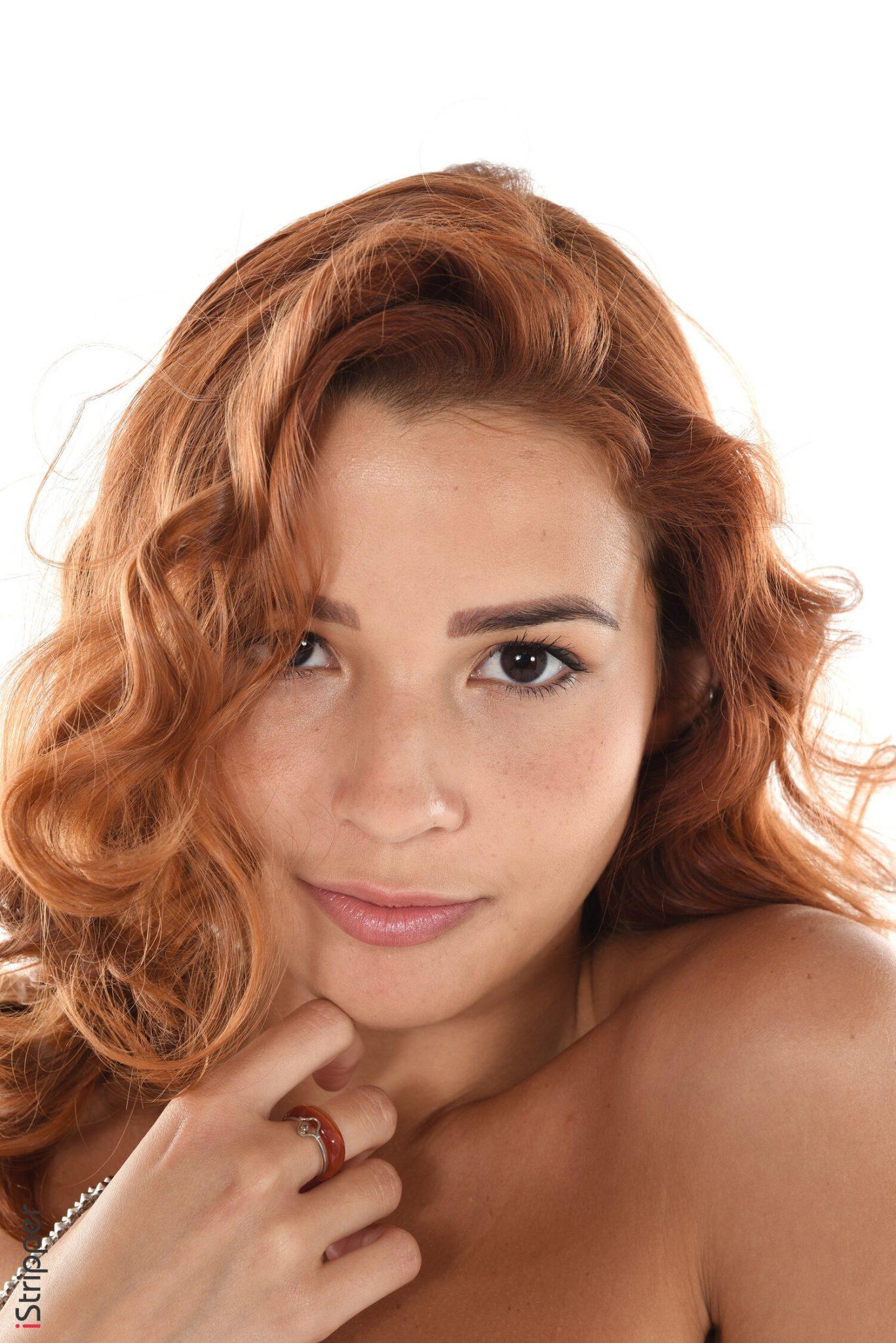 Fantastic Redhead Sexy Girl Stripping Pics Watch Agatha Vega 4
