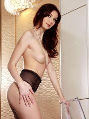 Kattie Gold naked brunette girl posing