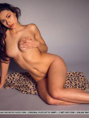 Angelina Socho pretty nude brunette
