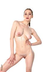 Sexy Naked Women Watch Hot Blonde Izabella Show Off Big Boobs