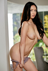 Busty Brunette Chick Sexiest Striptease Ever Watch Jade Baker
