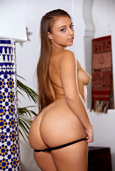 Big Booty Brunette Models Full Striptease Watch Gia Derza