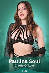 Sweet Solo Babe Paulina Soul Sexy Nude Strip Tease
