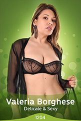 Watch Full Striptease Of Italian Model Valeria Borghese