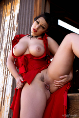 Hottest Strip Tease Watch Busty Italian Babe Aria Giovanni