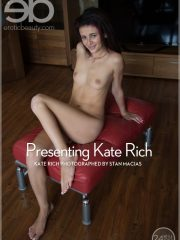 Shy Thin Model Kate Rich Hot Sexy Strip Naked